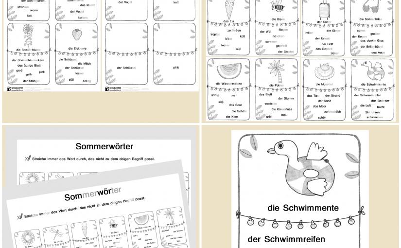 Zurück aus den Ferien mit neuem Material für Deutsch als Fremdsprache