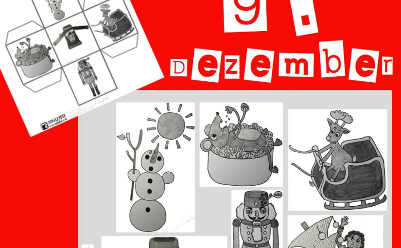 Heute: Weihnachtsdilemma-Würfel + Wer sind die Postkarten-Gewinner?