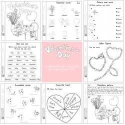Valentine's Day Mini Book