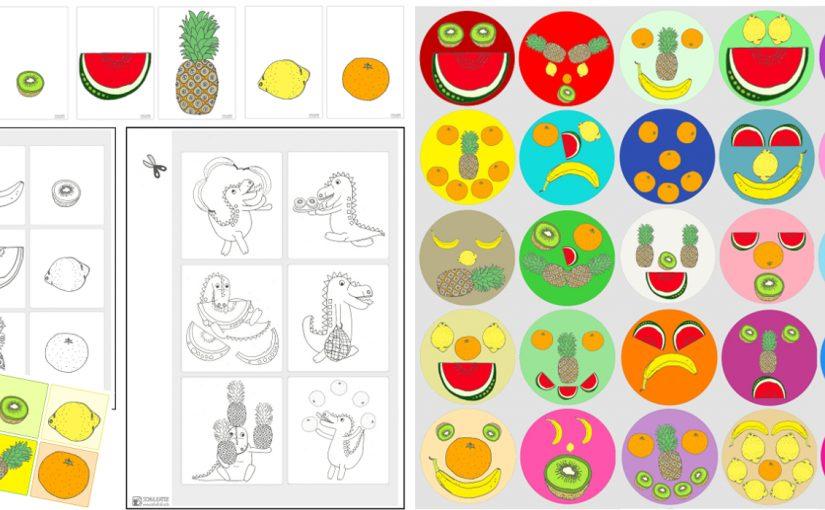 Neues Unterrichtsmaterial für Englisch ohne Schrift: Tropical Fruit Games