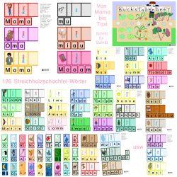 Lernweg: Buchstabenbeet