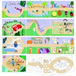 Lernwegkarten
