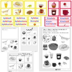 Produkte des Apfels