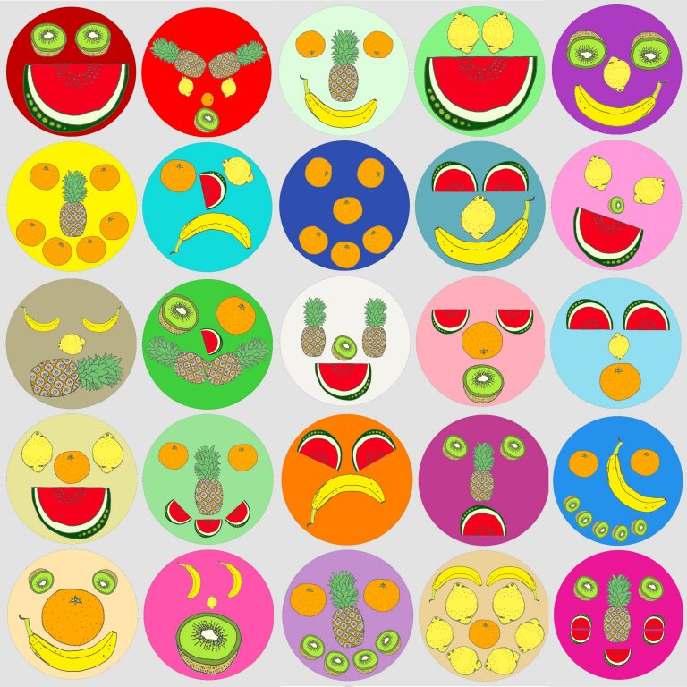 Fruit Faces Game