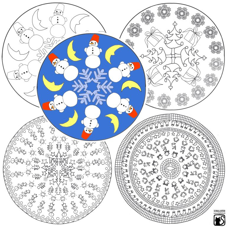 Wintermandalas