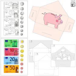 Portemonnaie mit Spielgeld
