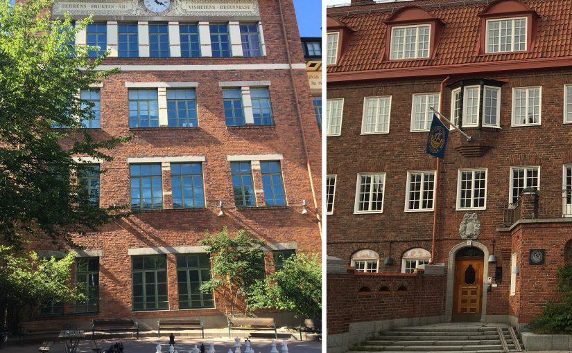 Durch Südschweden mit der Eisenbahn 3/6 Stockholms Spielplätze und Schulen: Matteusskolan und Deutsche/Tyska Skolan