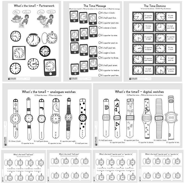 Time - Practice Worksheets