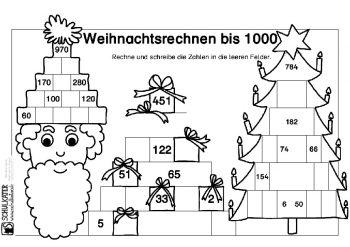 weihnachtliche rechenaufgaben archive blog bildung. Black Bedroom Furniture Sets. Home Design Ideas