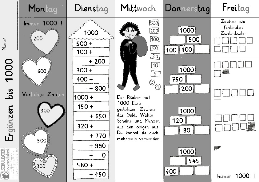 Schön 100 Tage Mathe Arbeitsblatt Ideen - Super Lehrer ...