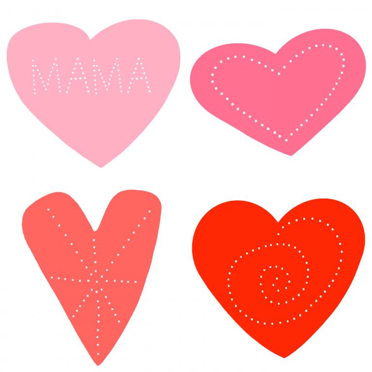 Prickelbilder zum Muttertag