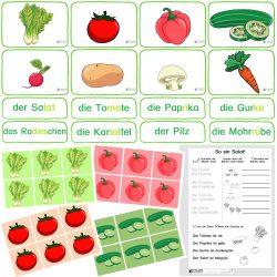 Gemüse - Grundbegriffe