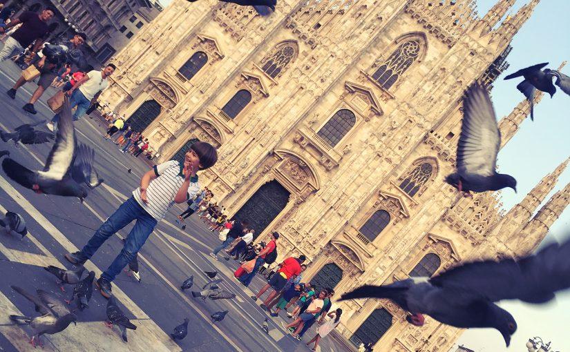 Stadt der Mode und des Mailänder Doms: Mailand – Milan – Milano, Italien