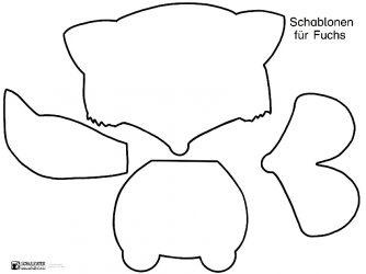 Fuchsmaske Zum Ausdrucken Druckvorlage Findest