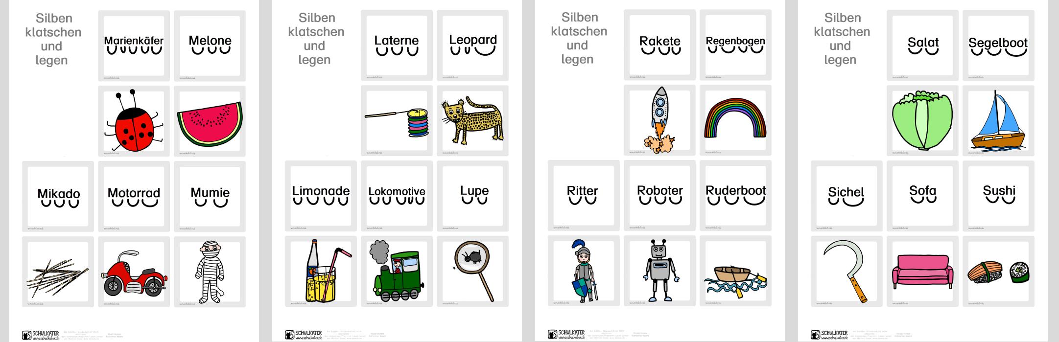 Silbenbogen Zeichnen Zaubereinmaleins Designblog 2