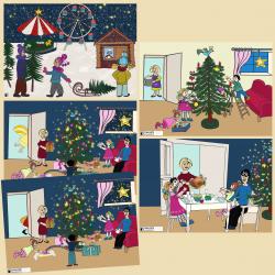 Erzählkarten Weihnachtsfest
