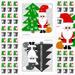 Purzelwörter für die Adventszeit