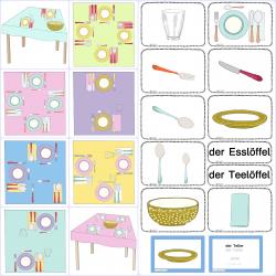Tischgedecke