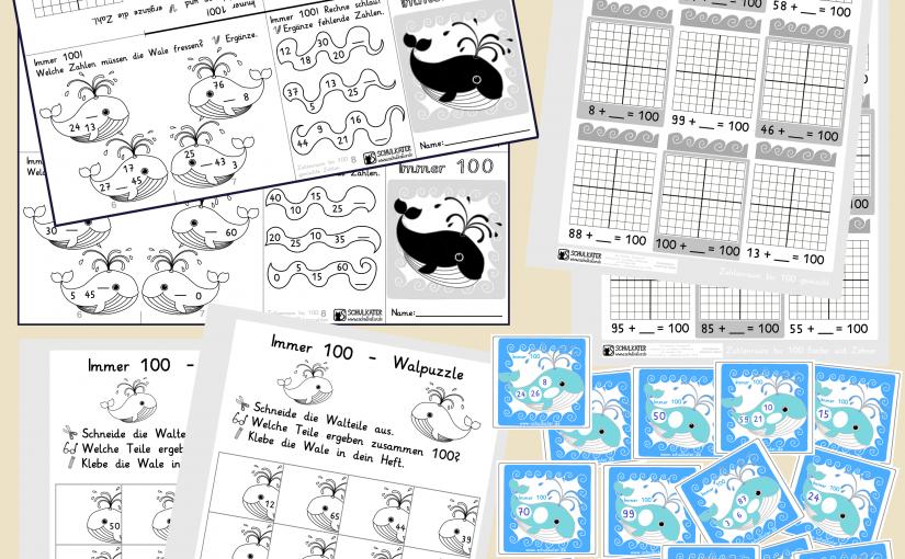 Ergänzen bis 100 – Differenziertes Unterrichtsmaterial für Klasse 2