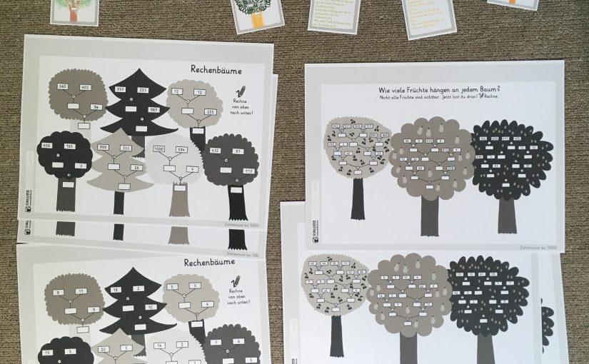 Rechenbäume – Mathematik im Herbst für die Klassen 1 – 4
