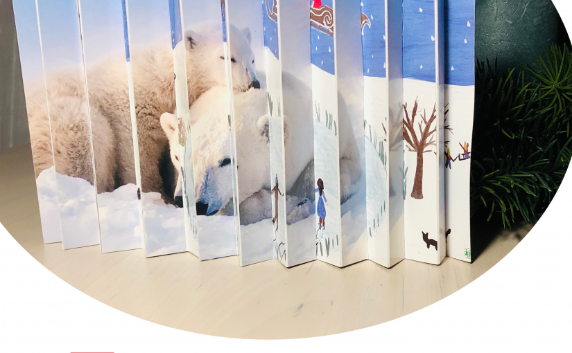 Für den Weihnachtsbasar oder als Geschenk: Ziehharmonika-Bilder