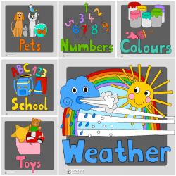 Themenkarten für Pocket Cube
