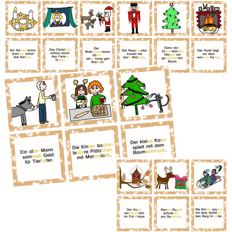 Lesezuordnungskarten 2